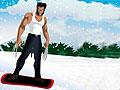 Росомаха: Логан на сноуборде