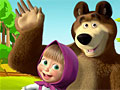 Маша и Медведь: Раскраски