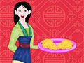 Мулан готовит китайский пирог