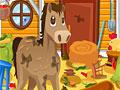 Уборка на конной ферме 2