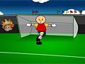 Каю играет в футбол