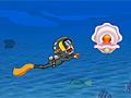 Зоя под водой