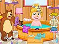 Маша и Медведь: Уборка ванной комнаты
