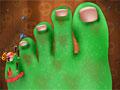 Хэллоуин: Лечение ноги
