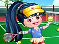 Теннисистка малышка Хейзел