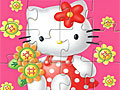 Хелло Китти и цветы
