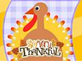 Открытка ко Дню благодарения