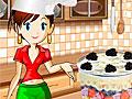 Кухня Сары: Десерт со взбитыми сливками