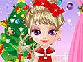 Рождественский наряд малышки Барби