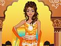 Индийская традиционная девушка