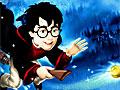 Гарри Поттер: Раскрасьте онлайн страницу