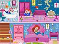 Уборка в кукольном доме Ариэль