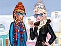 Холодное сердце: Зимняя уличная мода