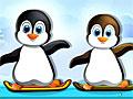 Пингвины на сноуборде