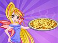 Винкс: Флора готовит пиццу
