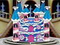 Алмазный торт-замок