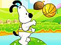 Снупи и мелочь пузатая: Игра в баскетбол