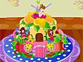 Декор торта для фей