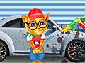 Говорящий кот: Рыжик на автомойке