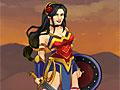 Одевалка: Амазонка-воин
