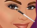 Кайли Дженнер в студии макияжа