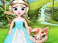 Холодное сердце: Эльза спасает кошечку