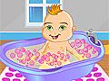 Ванна для милого малыша