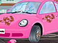 Хелло Китти на автомойке