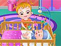 Малышка Хейзел ухаживает за новорожденой 2