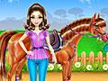 Уход за лошадьми и верховая езда
