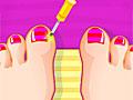 Педикюр: Лак для ногтей