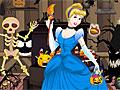 Золушка: Уборка магазина Хэллоуина