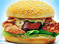 Как сделать куриный бургер