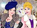 Принцессы Диснея на зимнем балу