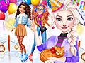 Принцессы Диснея: Вечеринка на коньках