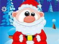 Дед Мороз одевается на Рождество