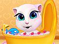 Говорящий кот: Купание малышки Анжелы