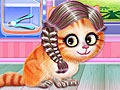 Котенок в парикмахерской