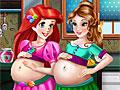 Принцессы Диснея: Беременные подруги