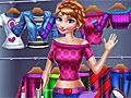Холодное сердце: Макияж и модный наряд для Анны