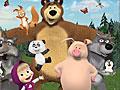 Маша и Медведь: Скрытые буквы