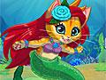 Создайте русалку-котенка