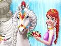 Прически принцессы и лошади