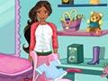 Принцесса Елана убирает в комнате