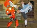 Супергерои против футболистов