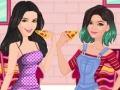 Сестры Дженнер тестируют пиццу