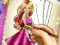 Книга-раскраска Барби