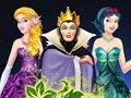 Превращение злодеек в принцесс Диснея