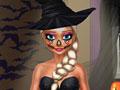 Эльза готовится к Хэллоуину
