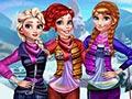 Зимняя мода принцесс